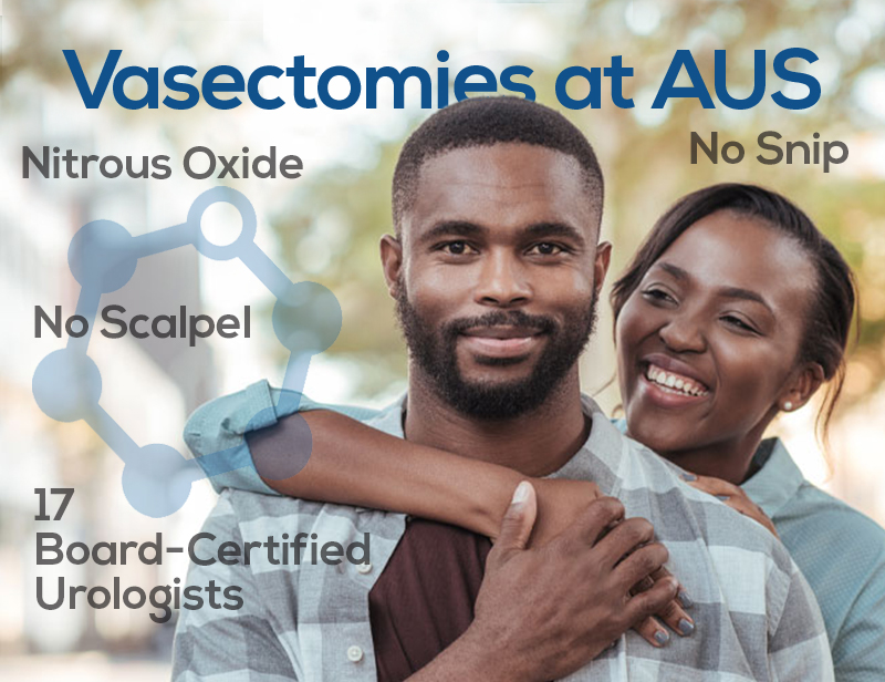 advanced urology vasectomies at aus