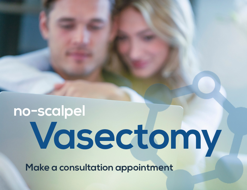no scalpel vasectomy consultation appointment