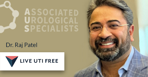 Dr. Raj Patel Live UTI Free
