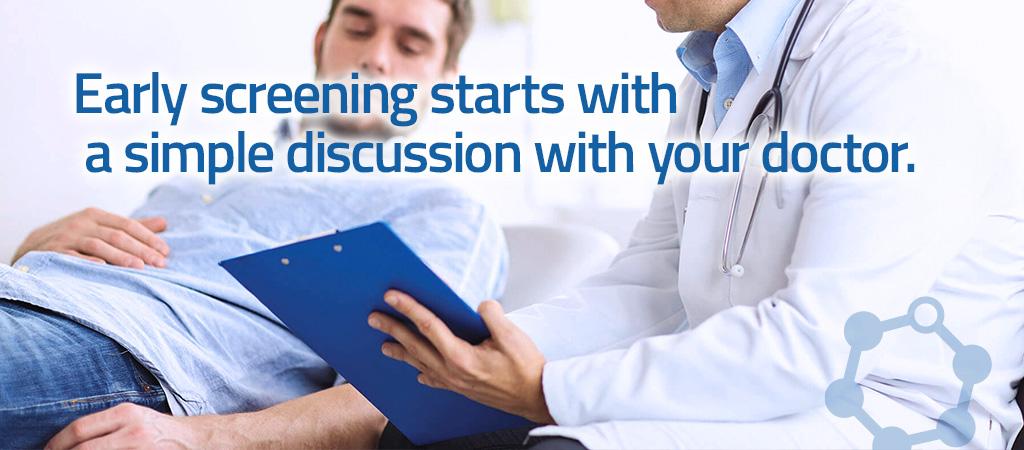 Screening prostate cancer at AUS
