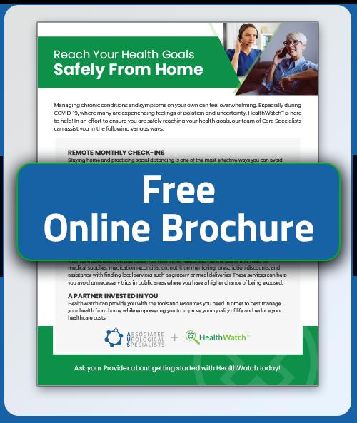 HealthWatch Brochure/Info